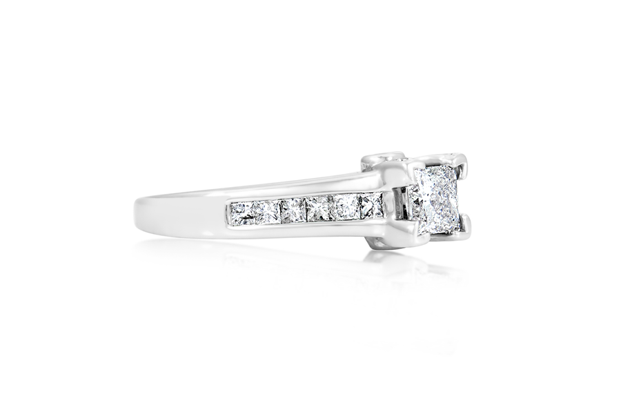 APX .75-CT Princess Diamond Engagement Ring