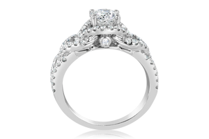 Tolkowsky Ideal Cut Diamond Ring