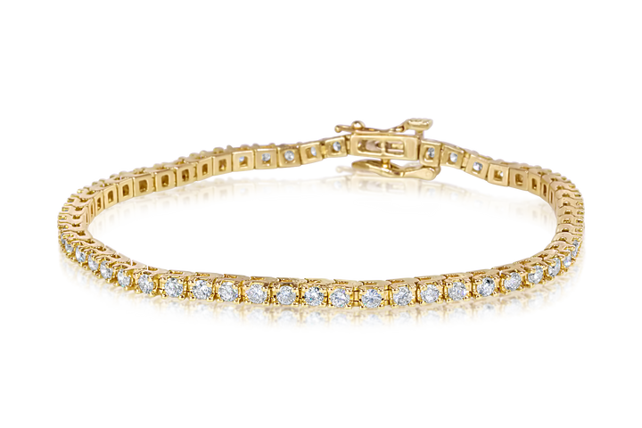 3.0-CTTW Diamond Tennis Bracelet
