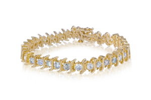 5.0 CTTW Diamond Tennis Bracelet