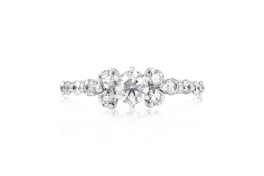 .38-CT Round Diamond Engagement Ring