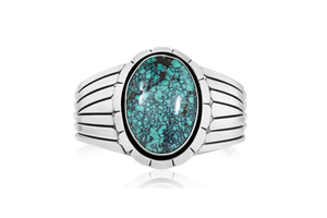 Cloud Mountain Turquoise Cuff Bracelet