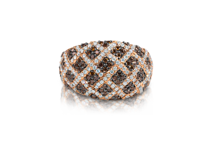 Pave Diamond Fashion Ring