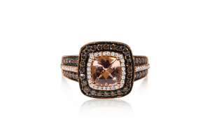 Le Vian Morganite Rose Gold Ring