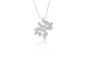 Diamond Flower Fashion Pendant