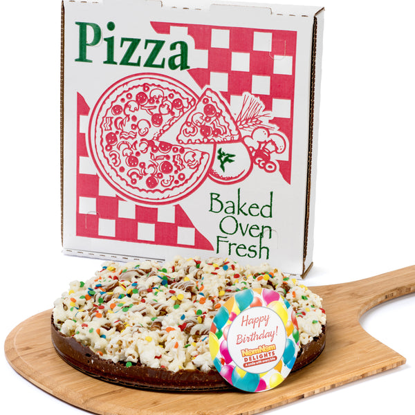 Happy Birthday Gift Chocolate Lovers Popcorn Pizza Kosher Certified