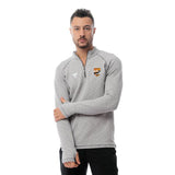 Watergrasshill Male Quarter Plain Zipper Shirt-Grey
