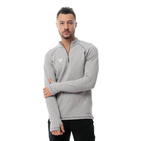 men Half zip top