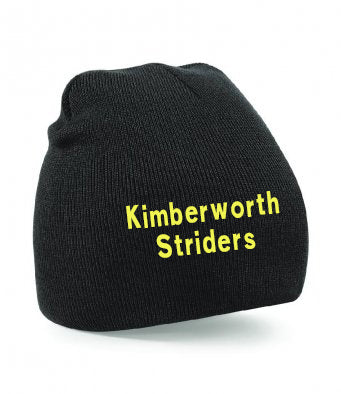 Kimberworth Striders Black Beanie