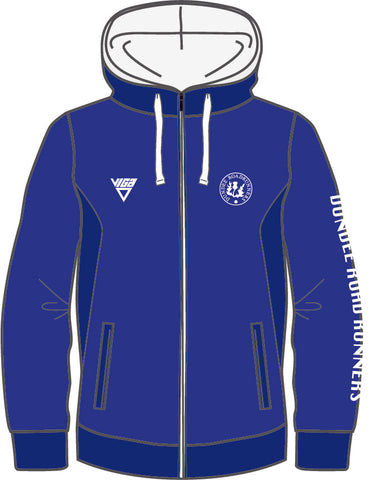 Dundee Roadrunners Zipped Hoodie Unisex (Non Personalised)
