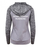 Desborough Runners Ladies Contrast Hoodie (Best Seller)