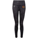 Dunoon Hill Runners Performance Snake Printed Leggings