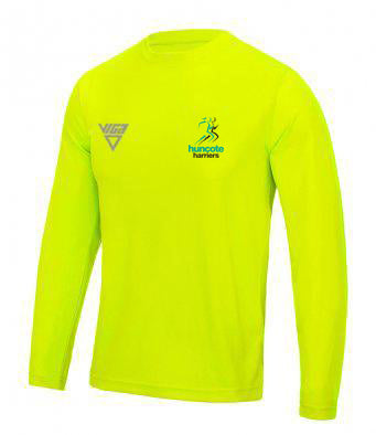 Huncote Harriers Long Sleeve T-Shirt (Male & Female sizes)