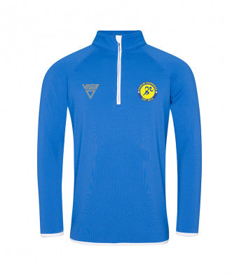 Danum Harriers Mens Half Zip Sweat Top