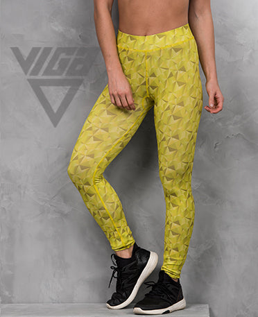 VIGA Ladies Hazy Lime Leggings