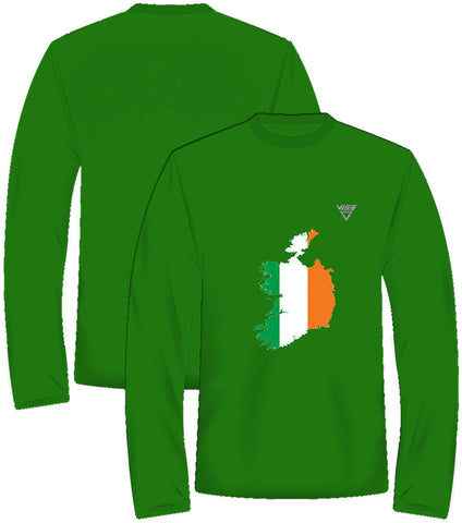 Ireland Long Sleeve Runners Top