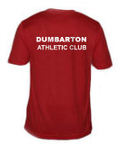 Dumbarton AC Mens Short Sleeve Training T-Shirt