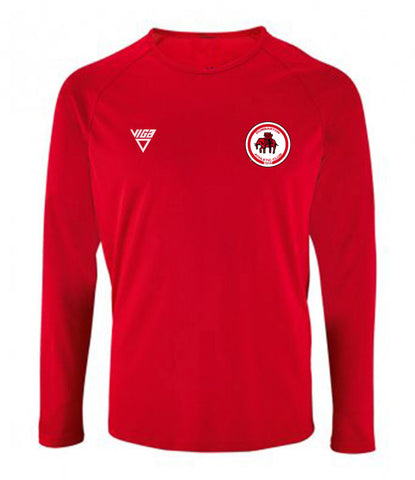 Dumbarton AC Mens Long Sleeve Wicking T-shirt