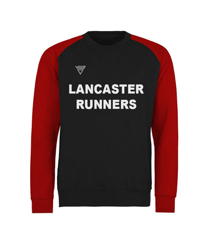Lancaster Runners Mens Contrast Sweat Shirt