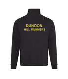 Dunoon Hill Runners Quarter Zip Top