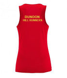 Dunoon Hill Runners Wicking Vest (Ladies & Junior sizes)