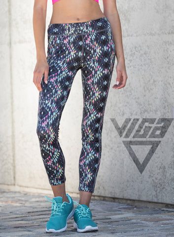 Ladies Reversible Workout Leggings