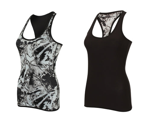 Ladies Reversible Workout Vest