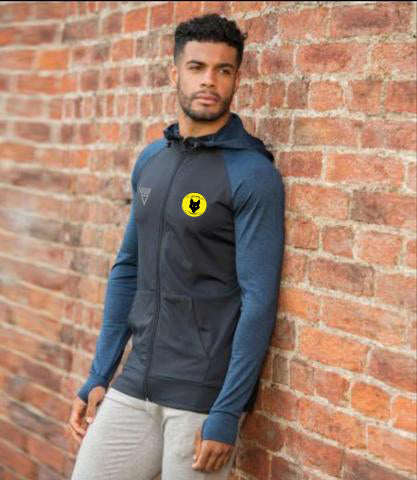 Alf Tupper Harriers Mens Contrast Hoodie (Best Seller)