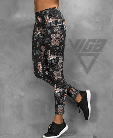 VIGA Ladies Multi Print Leggings
