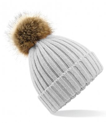 Ladies Pom Pom Hat