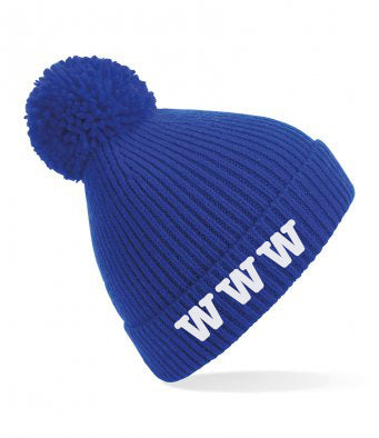 Wibbly Wobbly Wonders Running Club Pom Pom Hat