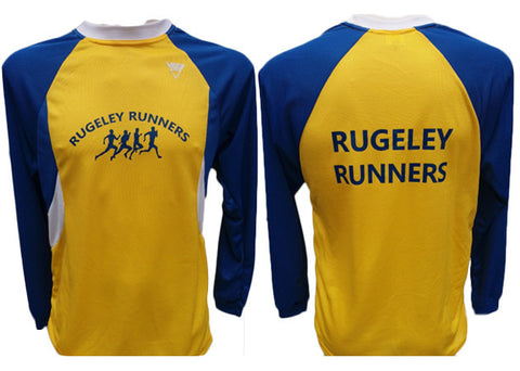 Rugeley Runners VIGA Ultra Cool Long Sleeve T-Shirt (Male & Female Sizes)