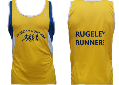 Rugeley Runners running Vest (Male & Female Sizes)
