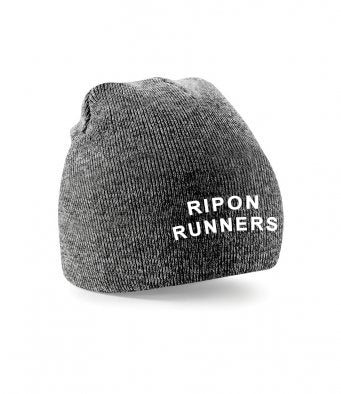 Ripon Runners Grey Beanie