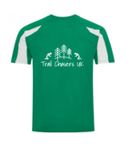 Trail Chasers UK Mens Contrast Wicking T-Shirt