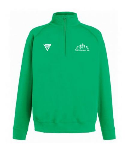 Trail Chasers UK Zip Sweat