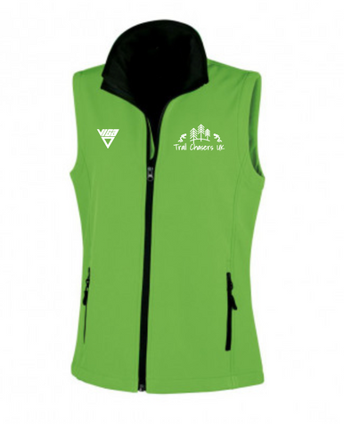 Trail Chasers Soft Shell Gilet (Male & Female sizes)