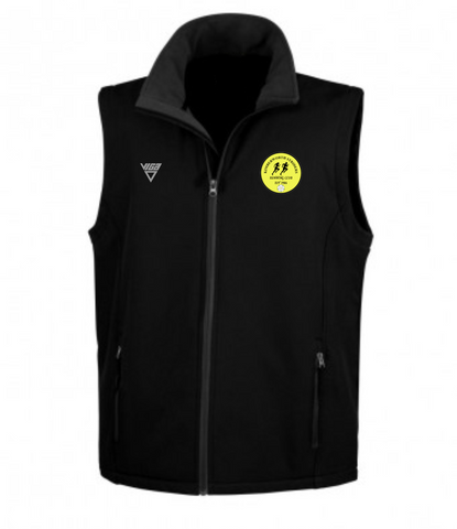 Kimberworth Striders Soft Shell Gilet (Male & Female sizes)