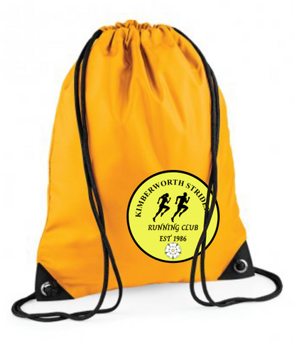 Kimberworth Striders Premium Yellow Gymsac