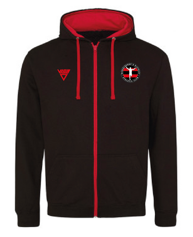 MADAC Harriers Zipped Hoodie (Unisex)