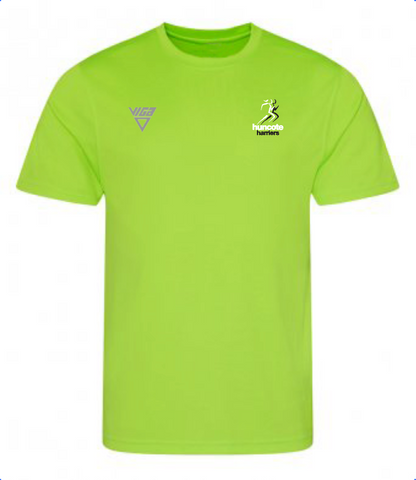 Huncote Harriers T-Shirt (Green) Male & Female Sizes