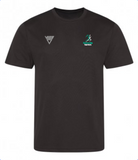 Huncote Harriers T-Shirt (Black) Male & Female Sizes