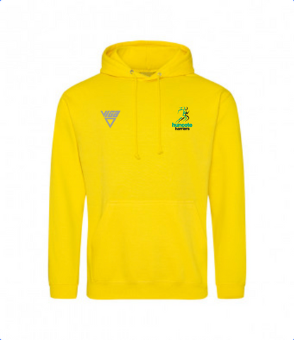 Huncote Harriers Hoodie (Yellow) Male & Female Sizes