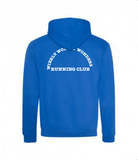 Wibbly Wobbly Wonders Running Club Contrast Hoodie (Unisex)