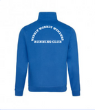 Wibbly Wobbly Wonders Running Club Zip Neck Sweat Shirt (Mens)