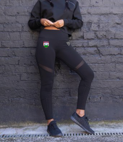 Wibbly Wobbly Wonders Ladies Panelled Leggings