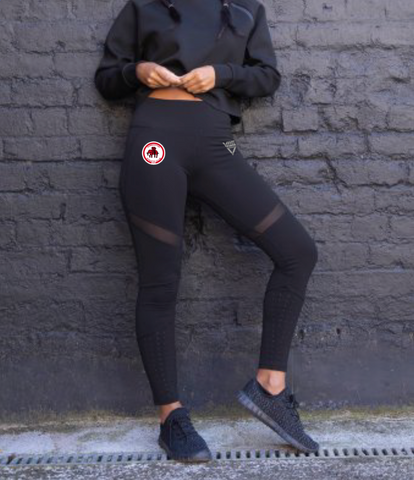 Dumbarton AC Ladies Panelled Leggings