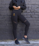 Casked Runners Ladies Panelled Leggings