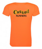 Casked Runners Ladies Short Sleeve T-Shirt
