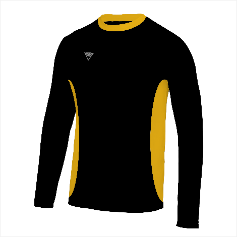 Side Panel Long Sleeve T-Shirt